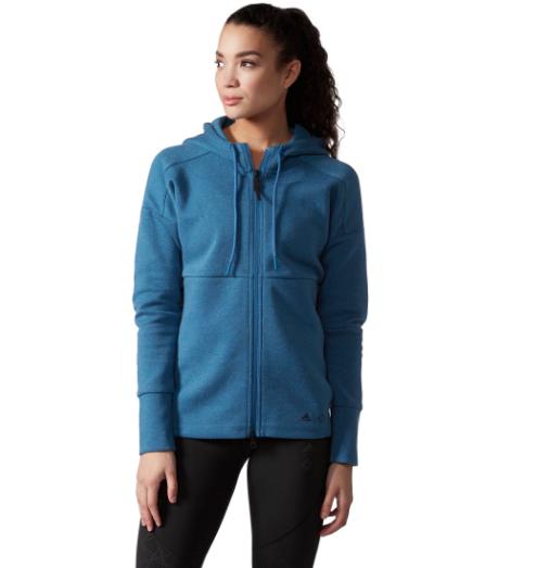 wanderlust blue hoodie