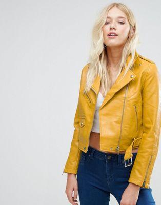 Bershka yellow jacket