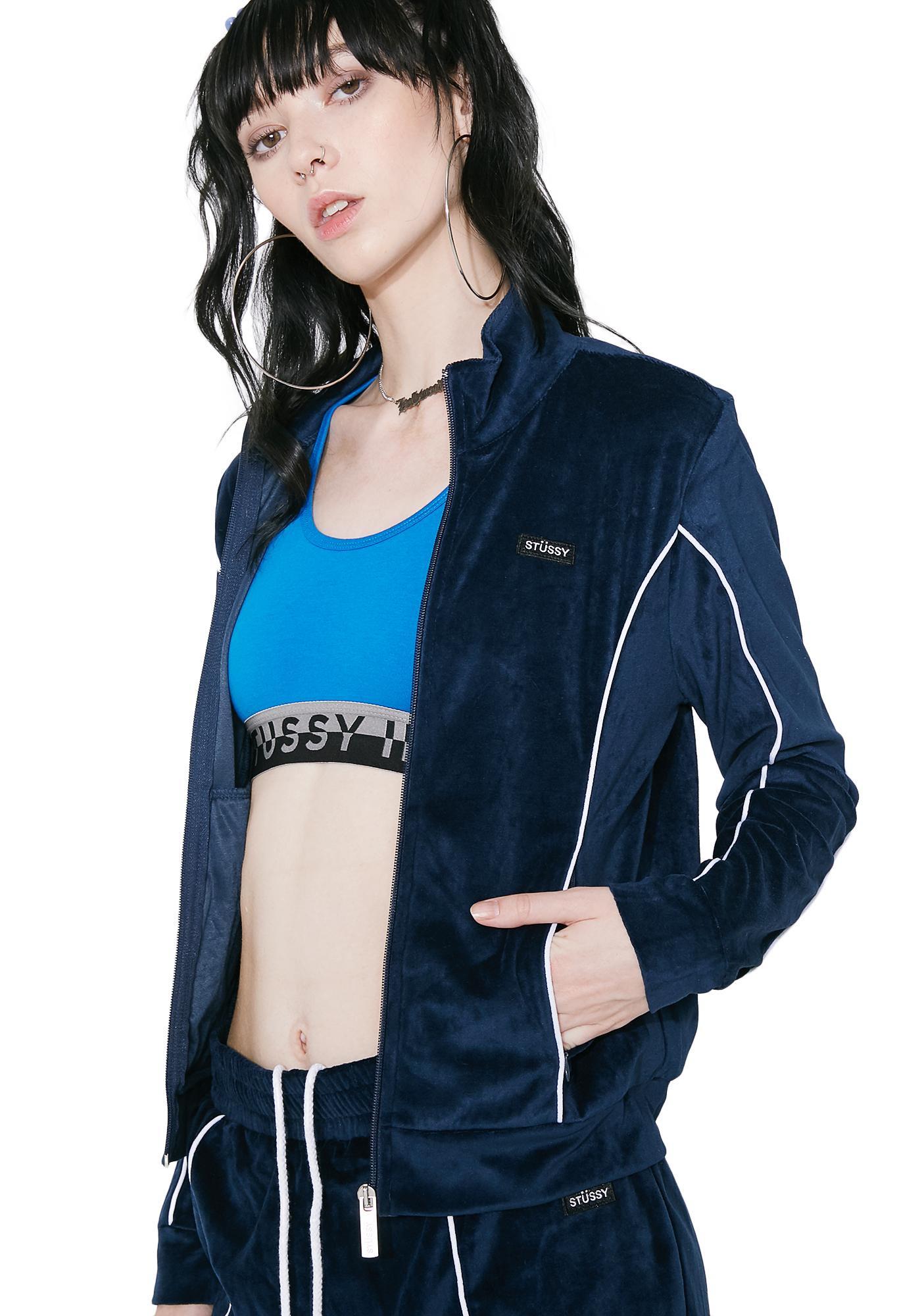 Stussy navy jacket