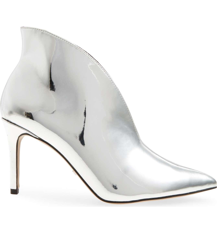 Topshop metallic boots