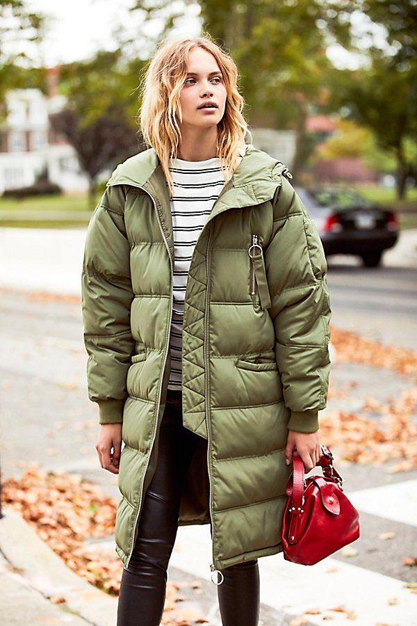 Free People raglan puffer